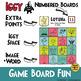La Lotería para Las Navidades.  Vocabulary Game for Christmas Bingo in Spanish.