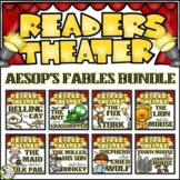 Readers Theater Scripts Aesop's Fables BUNDLE