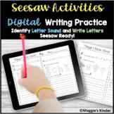 Digital Alphabet Writing Activities Seesaw