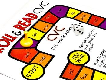 CVC Centers and Games Phonics Activities