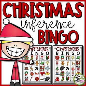 Christmas Inference BINGO (1st, 2nd and 3rd Grades)