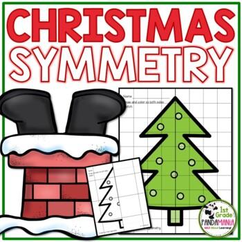 Christmas Symmetry Grades 1-3