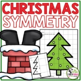 Christmas Math Activities: Christmas Symmetry (1st, 2nd and 3rd Grades)