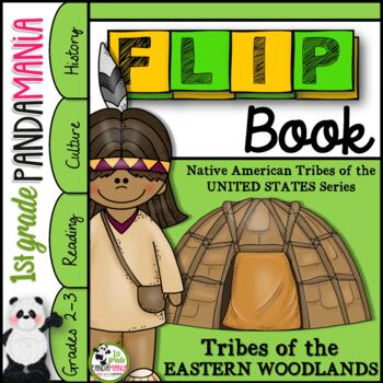 Eastern Woodlands Native American Tribes FLIP Book