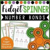 Fidget Spinner Theme Fact Family Number Bonds Activity Sheets