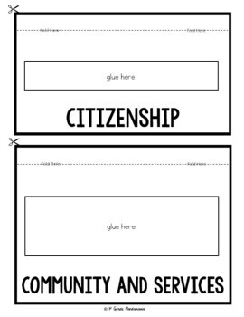 Good Citizenship in My Community: A 1st Grade Civics FLIP Book