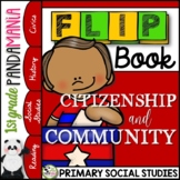 Good Citizenship and Community: A 1st Grade Civics FLIP Book