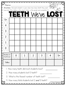 Graphing Activities Through the Year Grades 1-2