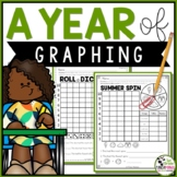 Graphing Activities for the Year | 1st Grade US and Canadi