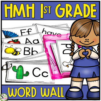 HMH Into Reading Word Wall Houghton Mifflin 1st Grade Sight Words (2020 Edition)