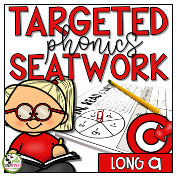 Long a Worksheets Phonics Activities