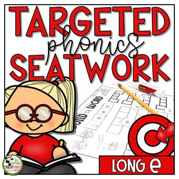 Long e Worksheets Phonics Activities
