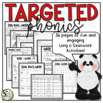 Long o Worksheets Phonics Activities