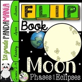 Moon Phases Activity: Moon Phases and Eclipses FLIP Book