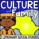 Culture and Family Traditions a Primary Grades Culture Unit (FLIP Book INCLUDED)