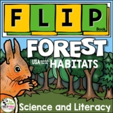 Forest Habitat Flip Book