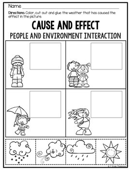 People and Their Environment: A 1st Grade Social Studies Unit plus FLIP Book