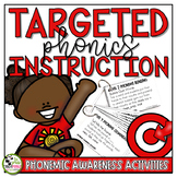 Phonemic Awareness Activities Daily Cards (Levels 1-5)