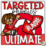 Phonics Instruction, Activities and Assessment Ultimate BUNDLE