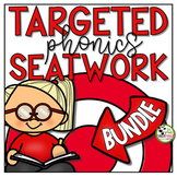 Phonics Worksheets and Seatwork Activities BUNDLE