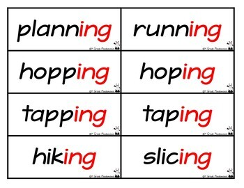 Prefixes and Suffixes Pocket Chart Literacy Centers Activity