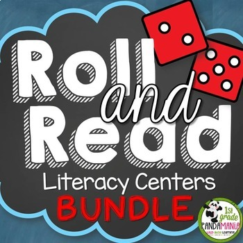 Roll and Read Literacy Centers Big BUNDLE