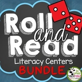 Roll and Read: Long and Short Vowels, Blends, Sight Words, and Digraphs Centers