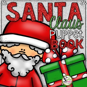 Santa Claus Christmas Craftivity Puppet Book