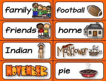 Seasonal Word Wall For the Whole Year K-2