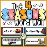 Four Seasons Word Walls (Kindergarten, 1st and 2nd Grades)