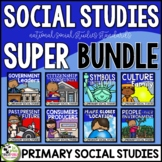 Social Studies First Grade Common Core Super Bundle