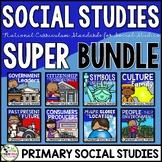 Social Studies Common Core Super Bundle 1st Grade