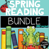 Spring Reading & ELA BUNDLE * Comprehension * Writing * Grammar