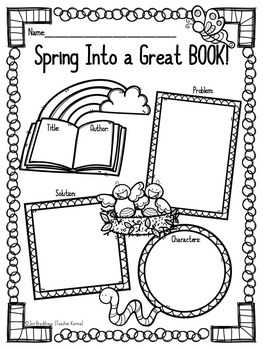Spring Reading & ELA BUNDLE * Comprehension * Writing * Grammar