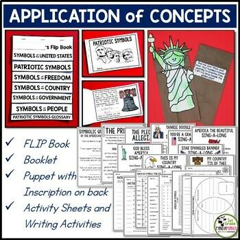 Patriotic Symbols of the United States BIG Pack Grades 2-3