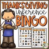Thanksgiving BINGO Making Inferences (1st - 3rd Grades)