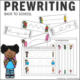 Tracing Skill Prewriting Practice Worksheets Back to School