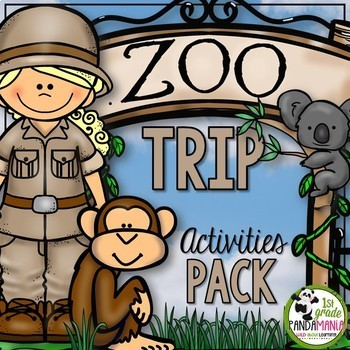 Zoo Field Trip Activity Pack