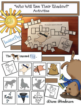 """""""Who Will See Their Shadow?"""" Groundhog Activities & Games"""
