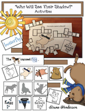 """Groundhog Activities: """"Who Will See Their Shadow?"""" Groundhog Games & Activities"""
