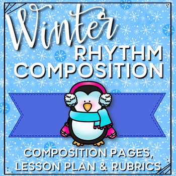 Winter Composition Pages and Mini Lessons