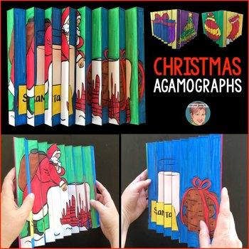 Christmas Agamographs - A Unique & Fun Christmas Activity | Christmas Craft