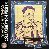 Diego Rivera Collaboration Poster | Great Hispanic Heritage Month Activity
