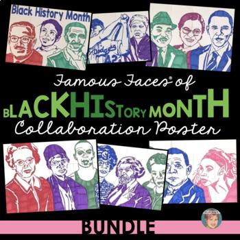 Famous Faces™ of Black History Month Collaboration Poster BUNDLE [incl Vol 1&2]