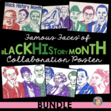 Famous Faces™ of Black History Month Collaboration Poster