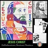 Jesus Christ Collaboration Poster | Christian Activity
