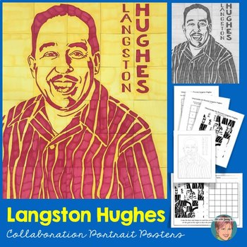 Langston Hughes Collaboration Poster