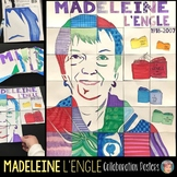 Madeleine L'Engle Collab Poster:  Author of A Wrinkle in Time