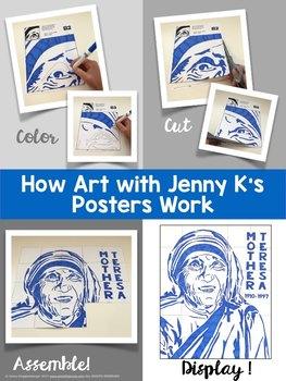 Mother Teresa Collaboration Poster