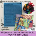 12 Nonfiction Reading Comprehension Vol 3 - Memorial Day Design Included!